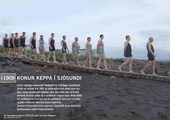 Konur-keppa-i-sjosundi